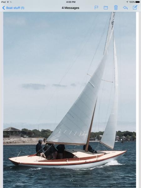 1934 Herreshoff Fishers Island 23