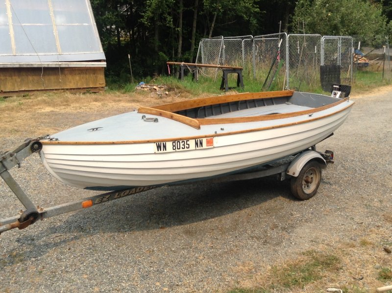 1957 Chris Craft Seaskiff