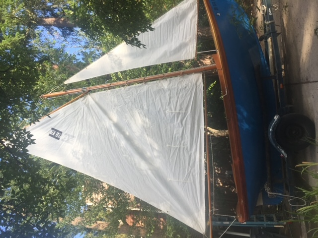 Haven 12 1/2 Wooden Sail Boat