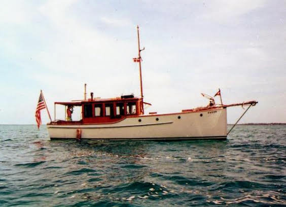 DAGON photo courtesy Classic Yacht Assn.