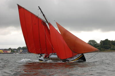 WIDGEON, Galway Hooker (gleoiteog), built 1938.