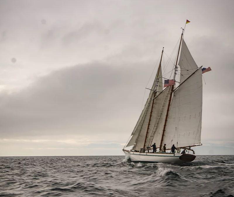 DIRIGO II, Alden/Goudy & Stevens schooner (1939). Photo: https://www.dirigosailing.com/