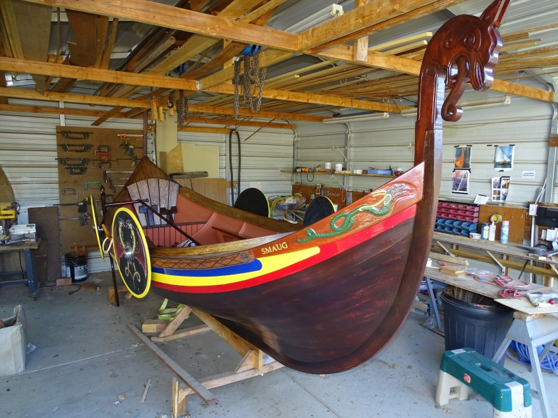 14.5' Viking Dragon ship, SMAUG.