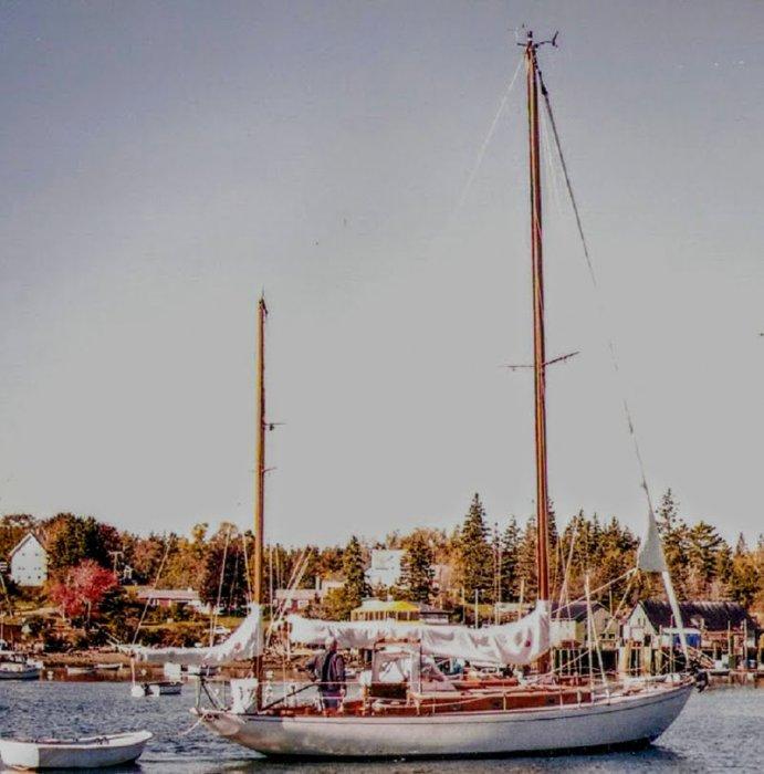 Concordia yawl #5, DUENDE. Photograph by Kurt Kavanaugh.