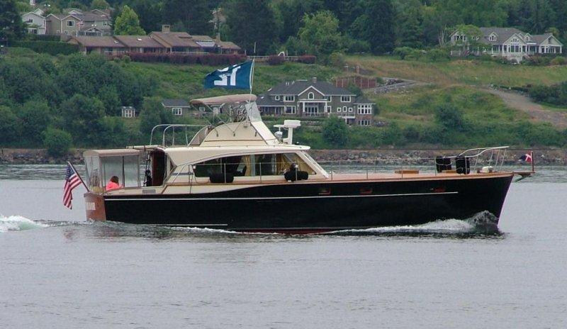 ENDEAVOR, a 1963 Matthews Stock Cruiser.