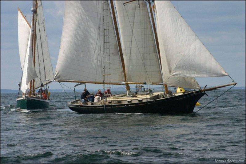 ESTRELA (ex-PROUD MARY), designed by George H. Stadel, Jr.