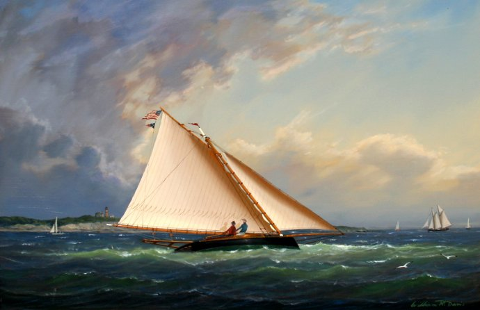 The Art of the Catboat | WoodenBoat Magazine