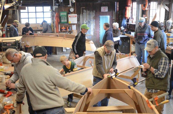 Gig Harbor BoatShop's Family Boatbuilding Program at the historic ...