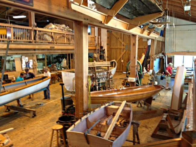 Introduction To Wooden Boat Building Course Harvey W Smith Watercraft Center Beaufort North Carolina