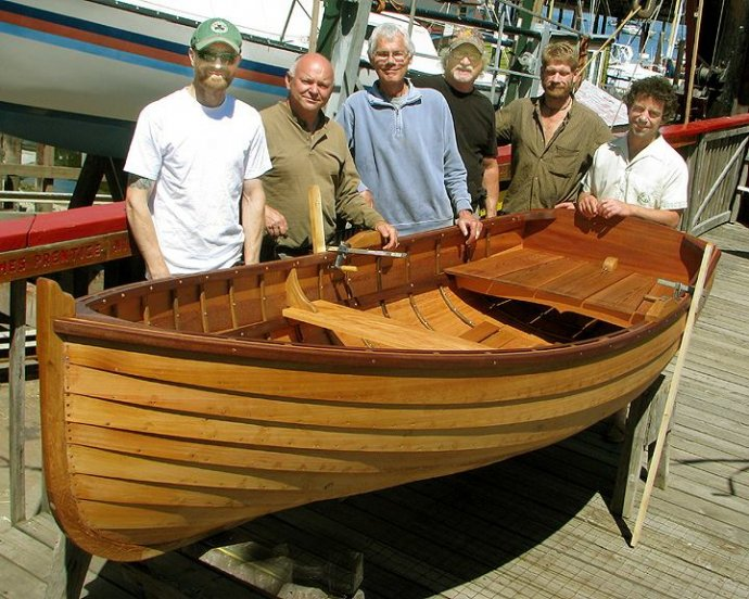 Traditional Lapstrake Boat Building Course | WoodenBoat Magazine