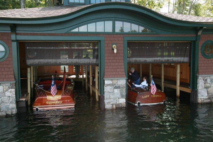 Annual Boathouse Tour on Lake Winnipesaukee   WoodenBoat Magazine