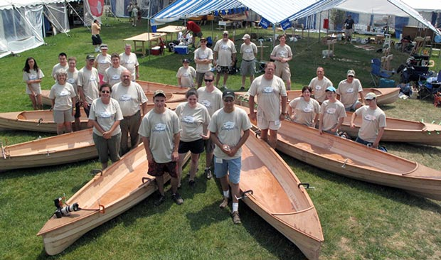 Family BoatBuilding photo 2010