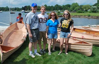 Family BoatBuilding photo 2011