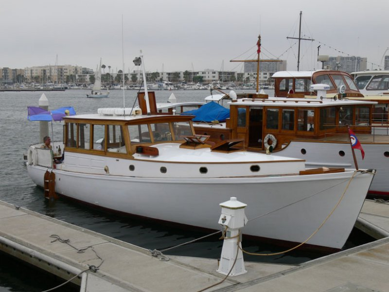 HEL-PORT II, a 40' Fellows & Stewart sportfisherman, built in 1937.