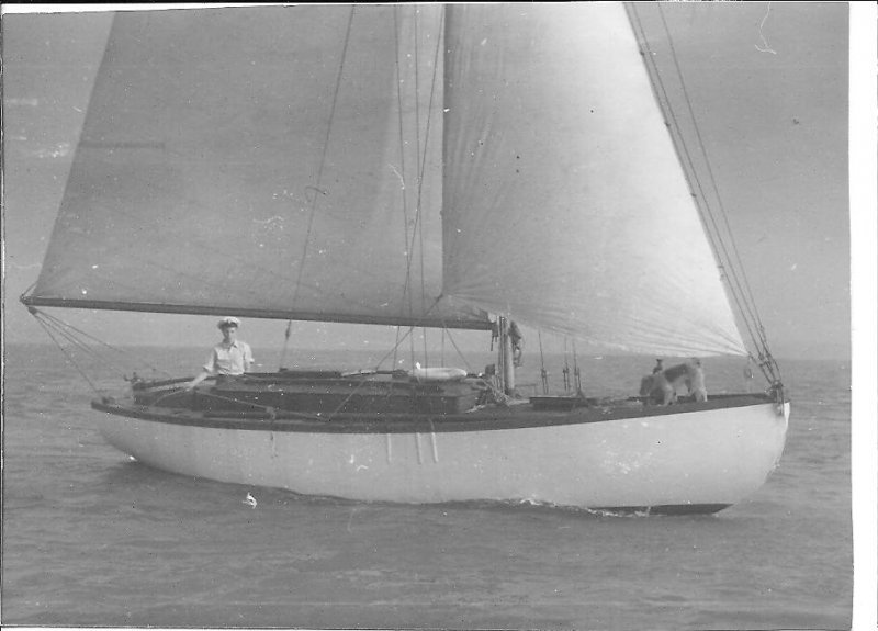 LadyAnne, Dallimore keel/cb sloop.