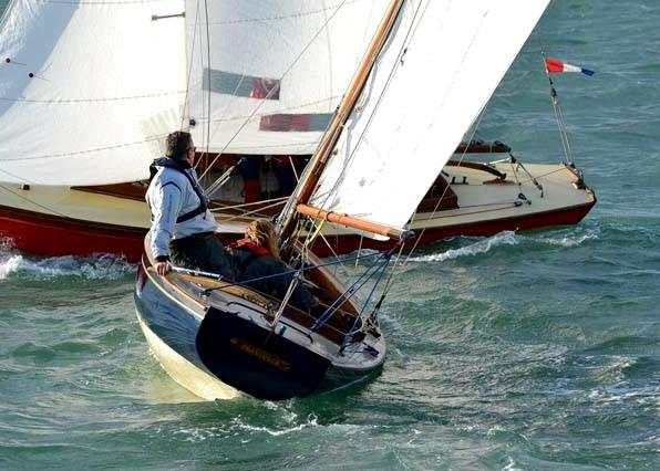 FRANCESCA sailing.