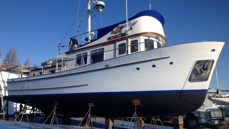 TYEE, 45' Marco Construction & Design Co. trawler yacht.