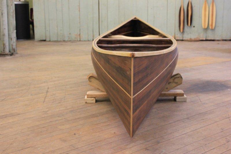 Cedar Strip Canoe from Ashes Still Water BoatsCedar Strip Canoe from Ashes Still Water Boats
