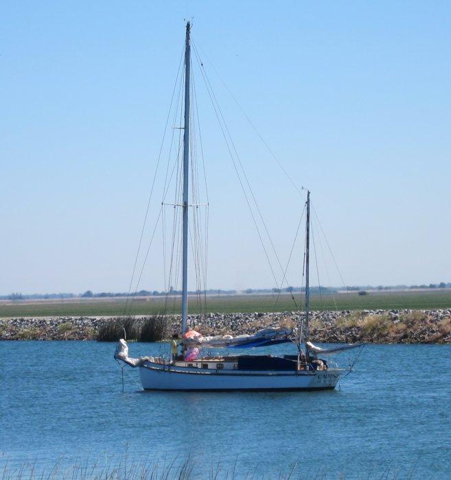 50' yawl CALYPSO (ex-MICHIGAN).