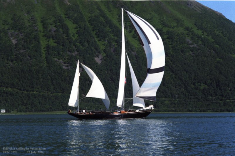 IMPALA is a CCA ocean racing cruiser.