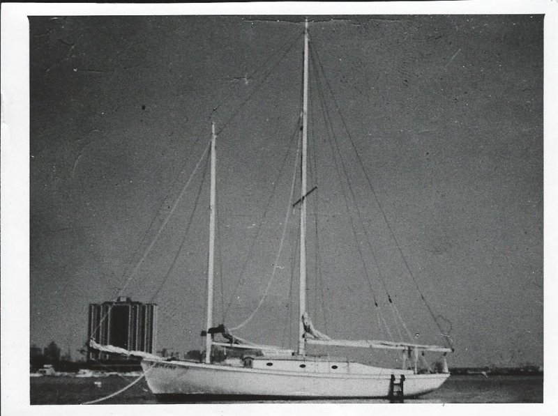 INDIA, a Crocker Sea Dawn schooner.