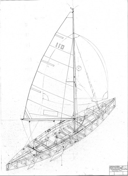 the plywood International 110 lines drawing.