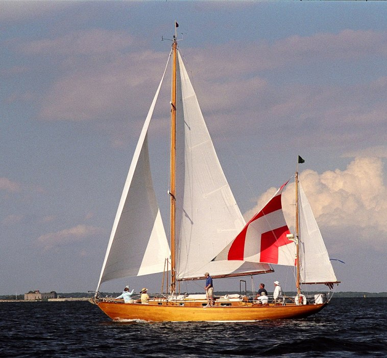 IRIAN, Concordia Yawl Reunion 2008.