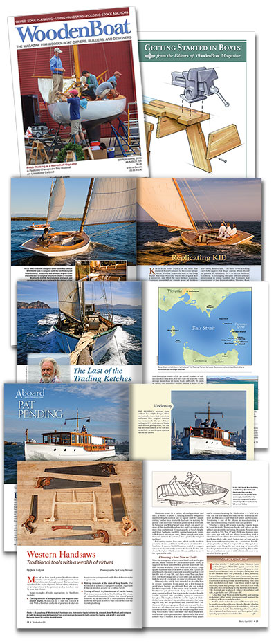 WoodenBoat issue 231