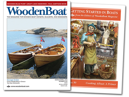 WoodenBoat issue 243