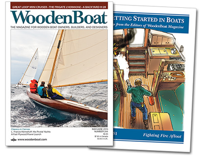 WoodenBoat issue 244 covers
