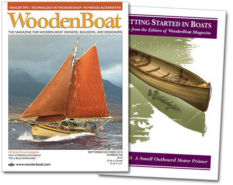 WoodenBoat issue 246 cover