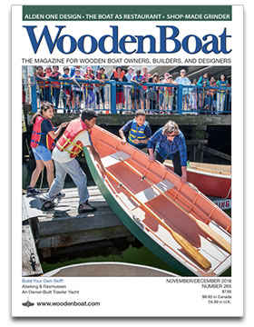 WoodenBoat magazine cover