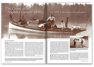 Naphtha Launch ABBIE article spread