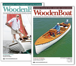 WoodenBoat cover photos