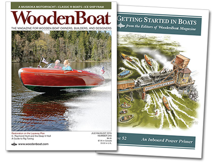 WoodenBoat issue 245 cover