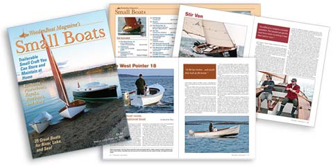 Small Boats 2007 Cover and spread