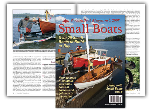 Small Boats 2008 Cover and spread