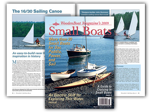 Small Boats 2009 Cover and spread