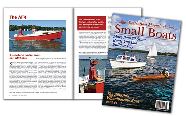 Small Boats 2010 Cover and spread