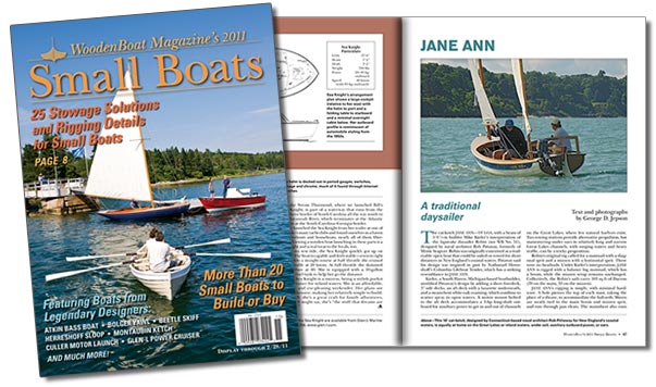 Small Boats 2011 Cover and spread