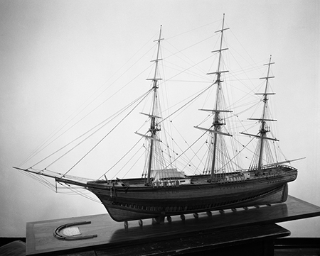 SEA WITCH, model by C.G.Davis, Mystic Seaport