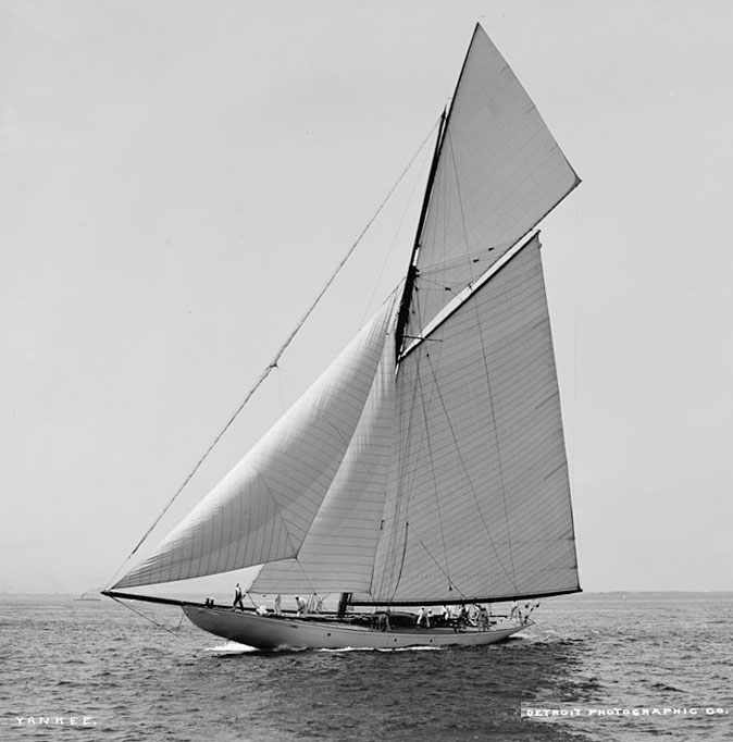 Photo of the NY70 YANKEE sailing