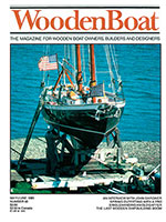 WoodenBoat Issue 40 cover photo