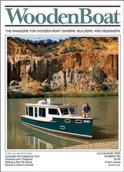 WoodenBoat issue 185
