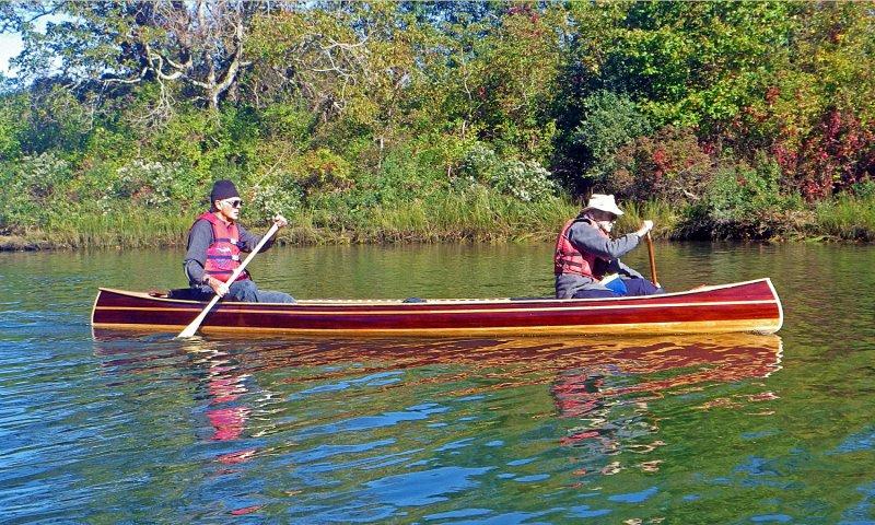 Mystic River Tandem Canoe