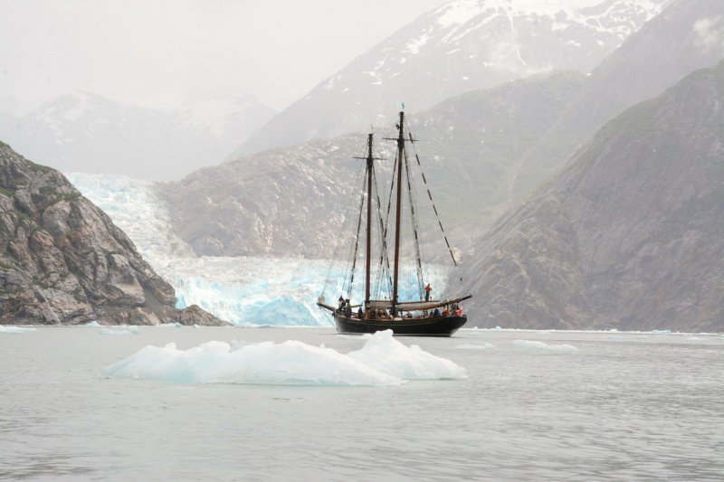 PACIFIC GRACE, Sawyer Glacier, Alaska, Aug. 2014. Photo by Melanie Wubs.