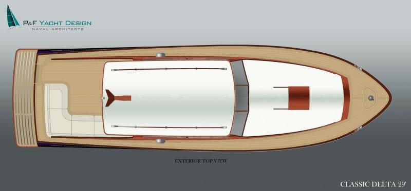 Classic Delta deck plan