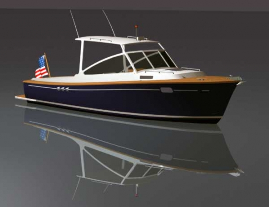 Lobster Boat 26 by bateau.com