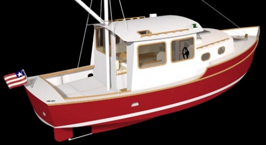 Trawler 28 | WoodenBoat Magazine