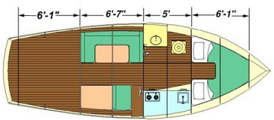Trawler 28 by bateau.com